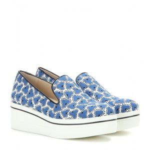 Binx Blue/White Slip On Sneakers